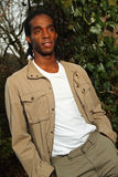 Male model in casual clothing Stock Photo