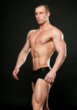 Male model posing Stock Photography