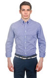 Male model with shirt Stock Photos