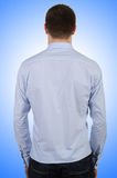Male model with shirt  Royalty Free Stock Image