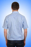 Male model with shirt  Royalty Free Stock Images