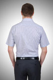 Male model with shirt  Royalty Free Stock Photography
