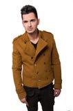 Male model wearing a jacket Stock Photo