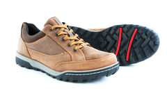 Male modern style jogging shoes Stock Photos
