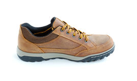 Male modern style jogging shoes. Isolated male modern style jogging shoes Stock Photography