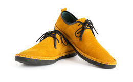 Male modern style mocassin Royalty Free Stock Image