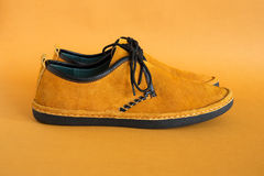 Male modern style moccasin Stock Photography