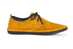 Male modern style moccasin Royalty Free Stock Images