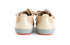 Male modern style shoes. Isolated male modern style shoes Stock Images