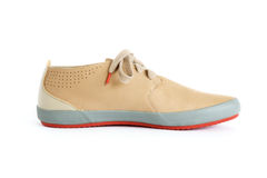 Male modern style shoes. Isolated male modern style shoes Stock Photo