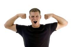 male muscular portrait Στοκ Φωτογραφίες