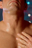 Male neck Royalty Free Stock Photo