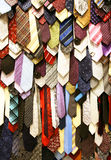 Male neck ties Stock Images