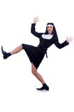 Male nun Royalty Free Stock Images