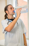 Male nurse Stock Image