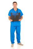 Male nurse patient's x-ray Royalty Free Stock Photo