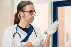 Male nurse Stock Photos