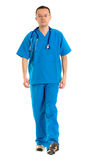 Male nurse walking Stock Photos
