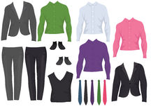 Male office clothes Stock Photos