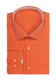 Male orange shirt Stock Photography