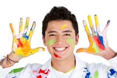 Male painter Stock Photos