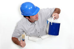 A male painter Stock Photography