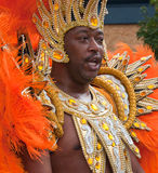 Male performer in the 2009 Notting Hill Carnival Stock Photo