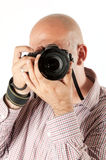 Male phootgrapher Royalty Free Stock Image