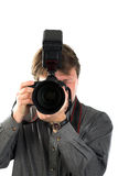 Male photographer Stock Photos