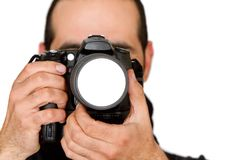 Male photographer Royalty Free Stock Photos