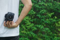 Photographers are taking photos. royalty free stock images