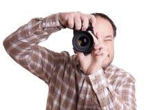 Male photographer Stock Image
