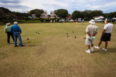 Bowls Players Games Competiton Stock Photo