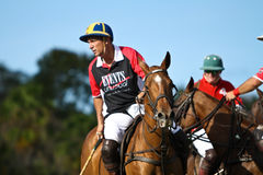 Male Polo Player Royalty Free Stock Photography