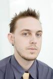 Male Portrait Stock Image