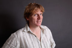 Male portrait. Stock Image