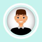 Male portrait. Vector. Men  avatar. Stock Photos