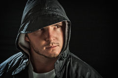 Male portrait royalty free stock photos