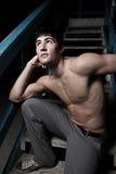 Male posing Stock Photos