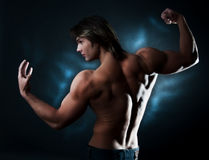 Free Male Posing And Staring Royalty Free Stock Photography - 12405887