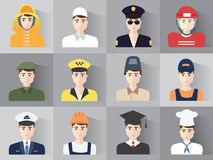Male profession Stock Images