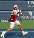 Male Professional Tennis Player Forehand Royalty Free Stock Photo