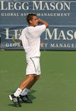 Male Professional Tennis Player Forehand Stock Photos