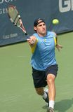 Male Professional Tennis Player Forehand Royalty Free Stock Images