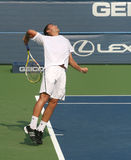 Male Professional Tennis Player Serve Stock Photos