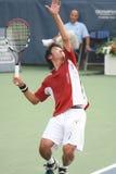 Male Professional Tennis Player Serve Stock Photos
