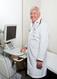 Male Radiologist At Clinic Stock Images