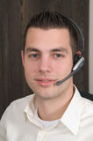 Male receptionist Stock Images