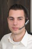 male receptionist Arkivbilder
