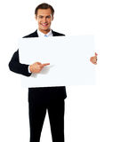 Male representative of a company Royalty Free Stock Image